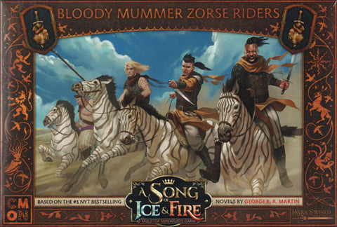 A Song of Ice and Fire - Bloody mummurs zorse riders