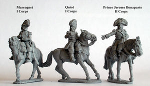 Mounted Generals of Division