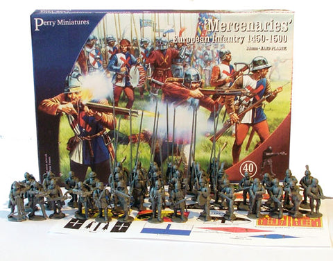 Mercenaries European Infantry 1450-1500