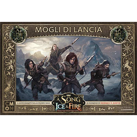 A Song Of Ice and Fire: Mogli di Lancia -Italiano