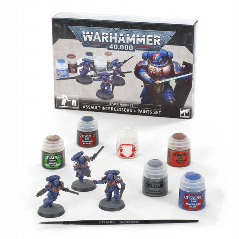Space Marines: Set Intercessors d'Assalto + Color