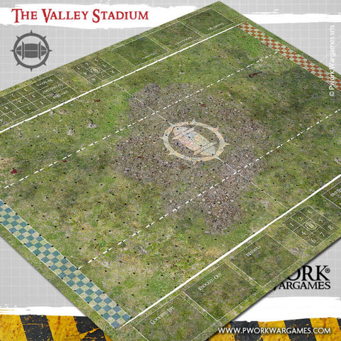 The Valley Stadium - Fantasy Football Mat