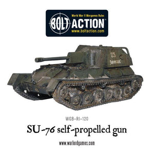 Soviet SU-76 Self-Propelled Gun