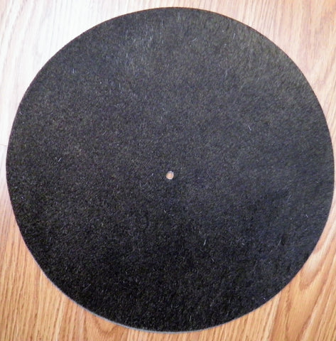 Turntable Mat - Solid Chocolate