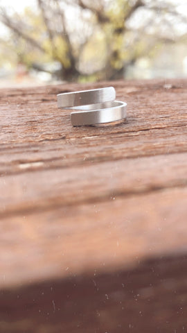 Custom Dainty Wrap Ring
