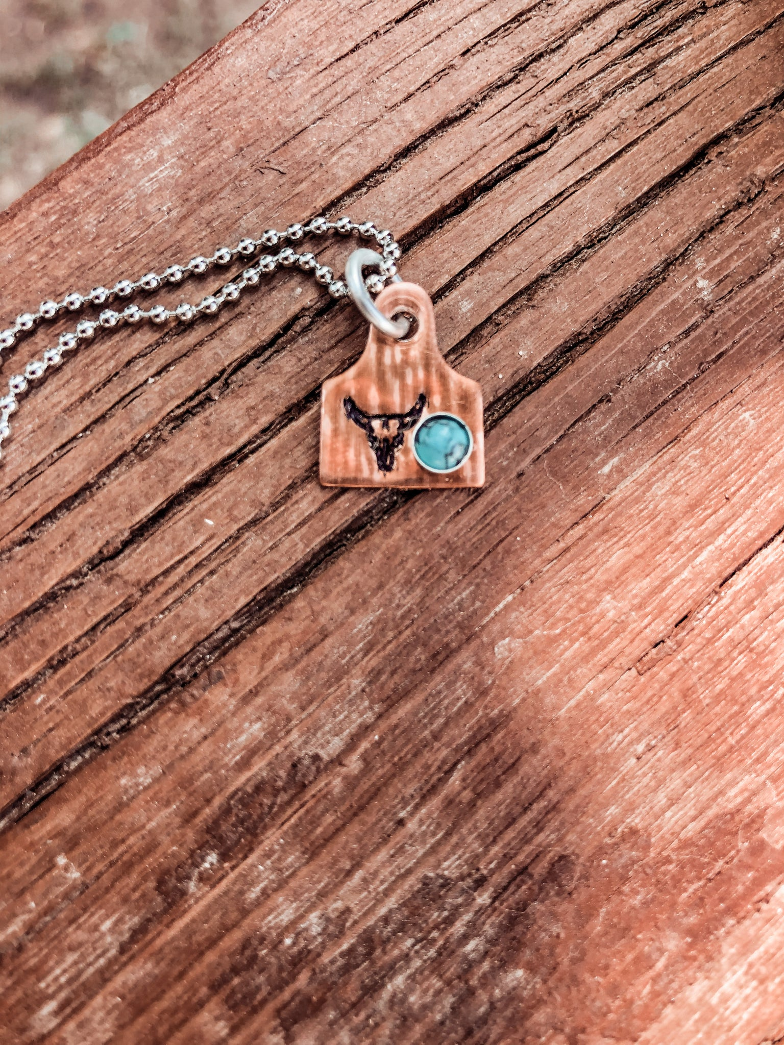 Copper Cowtag
