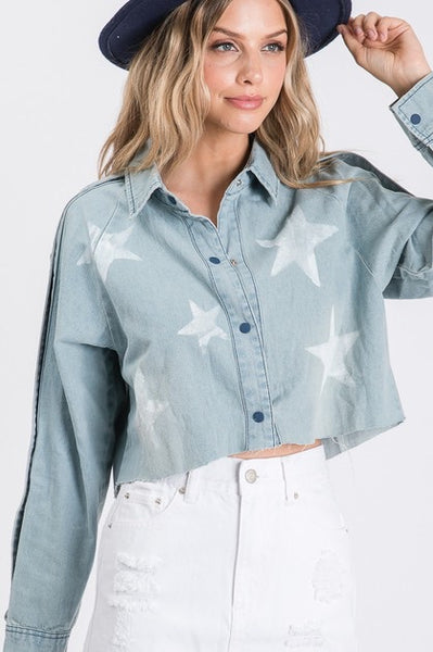 Stardust Cropped Top