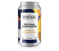 THE FINAL COUNTDOWN Session IPA DDH 33 cl. / caja 24 unidades