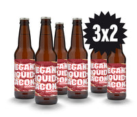 OFERTA 3X2 VEGAN LIQUID BACON Rauchbier 33 cl. / caja 12 unidades