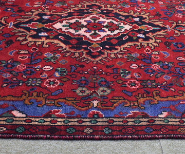 Hand Knotted Vintage Persian Shiraz Rug, 145 x 244 cm