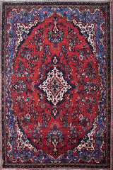 Hand Knotted Vintage Persian Shiraz Rug, 209 x 294 cm