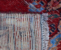 Hand Knotted Vintage Persian Shiraz Rug, 110 x 238 cm