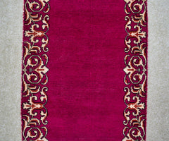 Hand Knotted Vintage Persian Shiraz Runner 91 x 394 cm