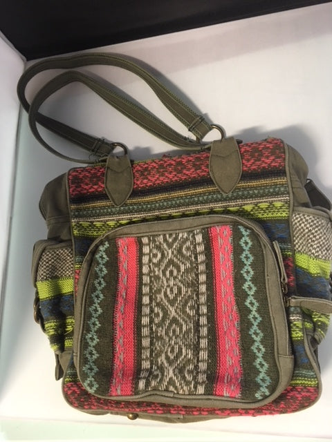 Free People Multi Color Tote