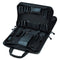 "Crawford 255-BLK Double-Sided 2-Compartment Soft Sided Zipper Tool Case 16"" x 11"" x 5"""