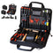 Crawford Basic Copier Tool Kit - 40-255BLK in 2-Compartment Zipper Style Tool Case