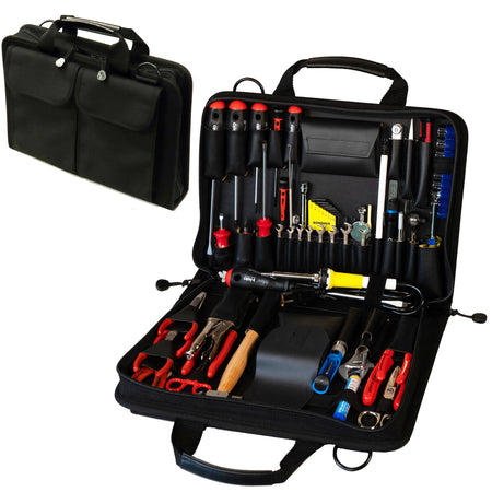 Crawford Field Service Engineers Tool Kit - 55-155BLK