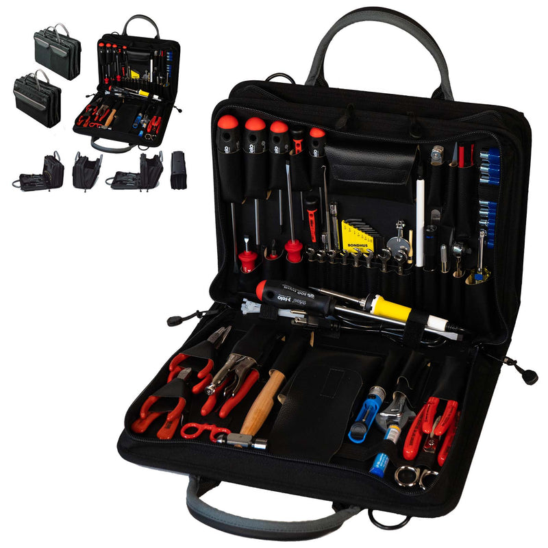 Crawford Metric Field Service Engineers Tool Kit - 55M-259BLK