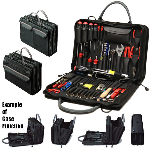 Crawford Field Service Engineers Tool Kit - 55-268BLK