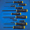 "Bondhus 10637 Balldriver Screwdriver Set 0.050"" to 3/8"" 13 Piece"