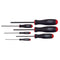 Bondhus 10686 Metric Balldriver Screwdriver Set 1.5mm to 5mm 6 Piece