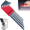 Bondhus 10946 Ball End Metric Hex Key Set 6 Pieces 1.5mm to 5mm