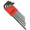 Bondhus 12192 Metric Hex Key Set (L-Wrenches) 7 Pieces 1.5mm to 6mm