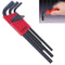 Bondhus 12199 Metric Hex Key Set 9 Pieces 1.5mm to 10mm