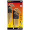 Bondhus 20899 Inch + Metric Twin Pack Ball End Hex Key Sets (L-Wrenches) with GoldGuard Finish