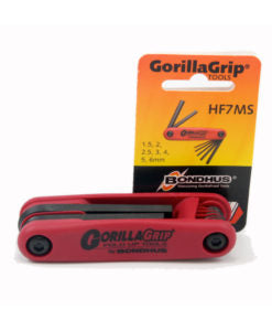Bondhus 12587 Gorilla Grip Fold-Up Hex Metric 2mm to 8mm