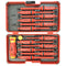 Felo 53439 E-Smart Compact Insulated Screwdriver Set Phillips/Slotted/Square/Torx
