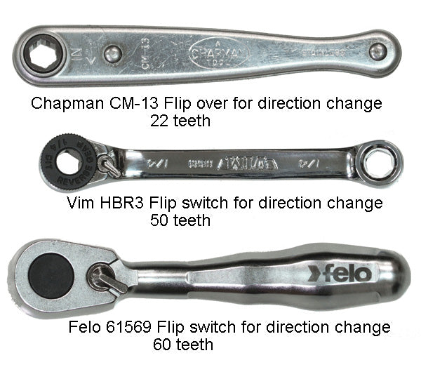 "Felo 61569 XS Pocket Sized Bit Ratchet with 1/4"" Drive Socket Adapter"