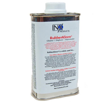INX 6888 RubberKleen RRC6888 Rubber Roller Cleaner and Rejuvinator 8 Ounce Can