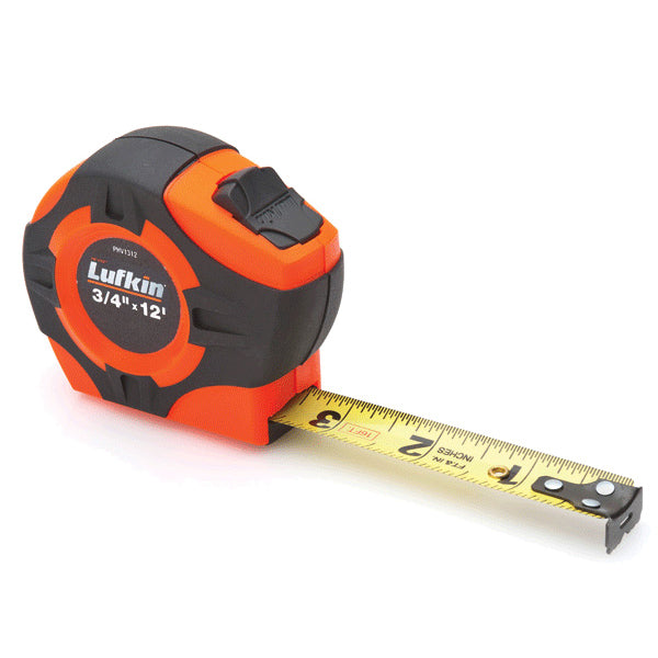 Lufkin PHV1312 High Visibility 12ft Tape Measure with Power Return and Locking Blade