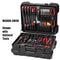 "Crawford M349B-3W3X Tool Case Military Style 9"" Black with 3W and 3X Pallets"