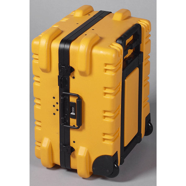 "Crawford M350Y-3W3X Tool Case Military Wheeled 10"" Yellow with 3W and 3X Pallets"