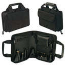 "Crawford MTZ2-BLK Mini Soft Sided Zipper Tool Case 10-1/2"" x 7-1/2"" x 2-3/4"""