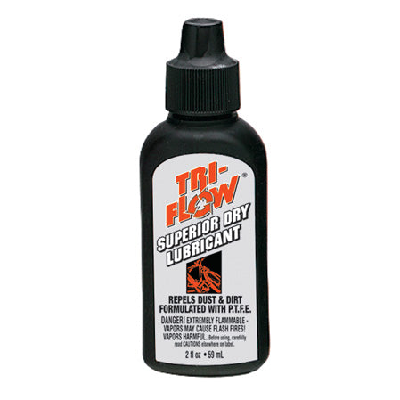 Tri-Flow TF21013 Superior Dry Lubricant 2 oz Squeeze Drip Bottle