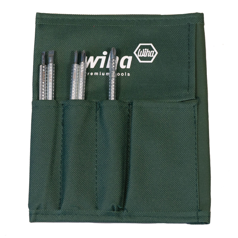 Wiha DLSD5 Drive-Loc VI Phillips + Slotted Reversible Blade Set