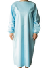 Washable Blue Isolation Gown Level 1 / Pack of 2