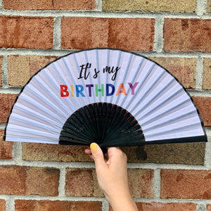 Birthday Fan Birthday Gift Party Favors