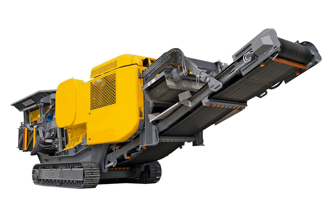 Hydraulic Mobile Crusher