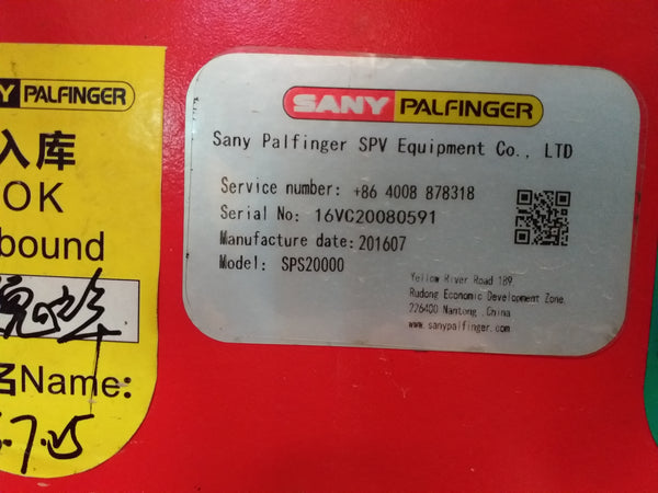 SANY PALFINGER MOUNTED CRANE - (MC-034)