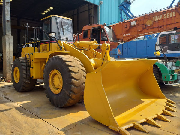 CATERPILLAR WHEEL LOADER 966E - (WL966-186)