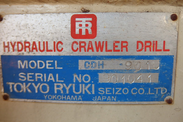 INGERSOLL RAND CRAWLER DRILL CDH901C (CD-049)