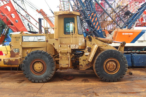 CATERPILLAR WHEEL LOADER 966D - (WL966-187)
