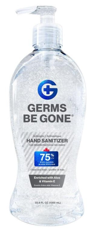 1L Hand Sanitizer Pump Bottle (75% alcohol)