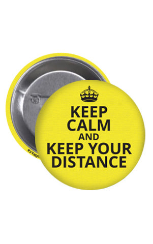 KEEP CALM Buttons - 25-Pack