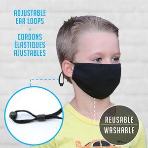 Youth Sport-Tech Adjustable Cotton Mask
