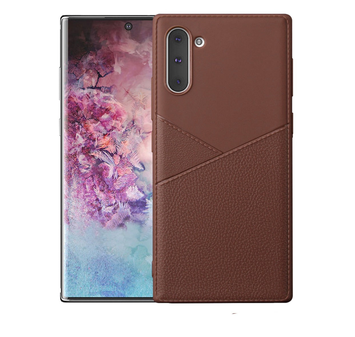 Platinum Design Leather Case Super Thin for Samsung Galaxy Note 10 Plus